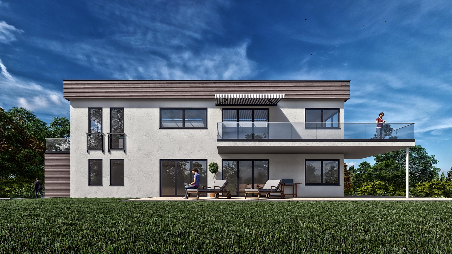 Visualisierung Doppelhaus